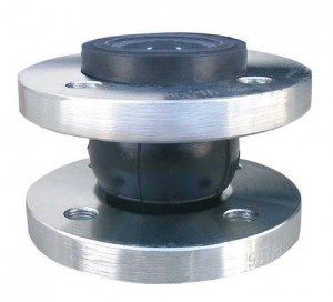Single sphere expansion joint DN250